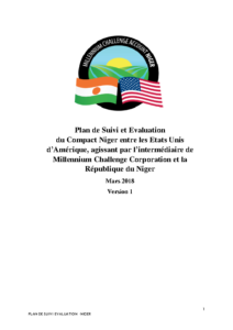 Niger ME Plan (French)