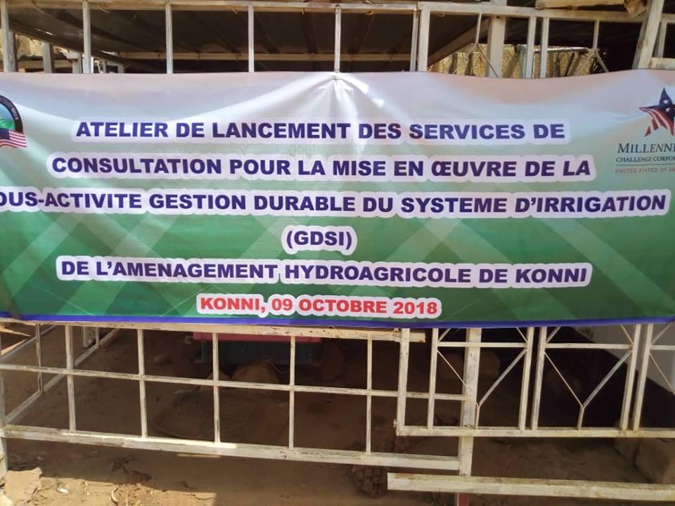 Atelier de la consultation pour la GDSI organisée à Konni