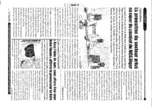 La Nation, Quotidien nigérien d'analyse et d'informations générales n°585 du lundi 02 Septembre 2019