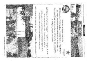 Le hérisson n°182 du 31 juillet au 07 août 2018