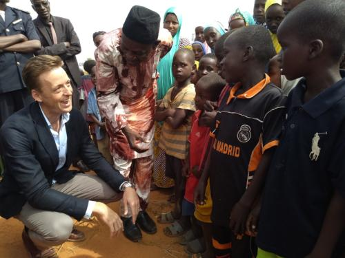 Sean Cairncross et les enfants de Margou
