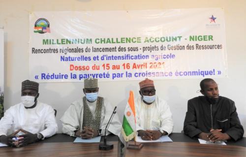 Lancement officiel avec les autorités de la région de Dosso.
