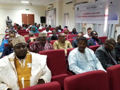 Participants à la journée d'information.
