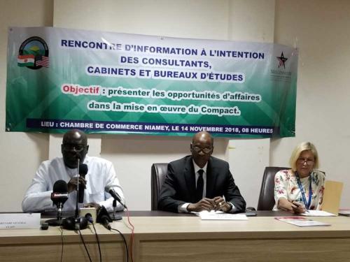 Intervention du Secrétaire Général de la Chambre de Commerce et d'Industrie du Niger