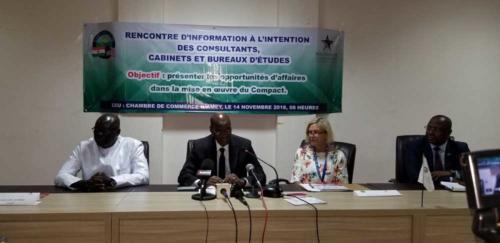 Intervention du Directeur Général de MCA-Niger