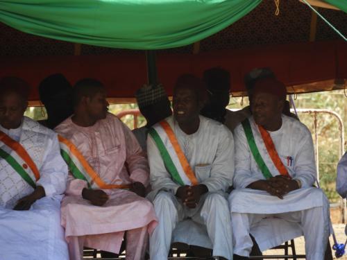 Les élus locaux étaient présents
