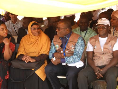 L'équipe de MCA-Niger à participer à l'événement