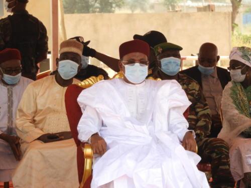 Le Président de la République du Niger, Issoufou Mahamadou