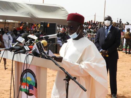 Le Gouverneur de la région de Dosso, lors de son allocution.