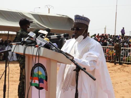 Le Ministre de l'Equipement, Kadi Abdoulaye.