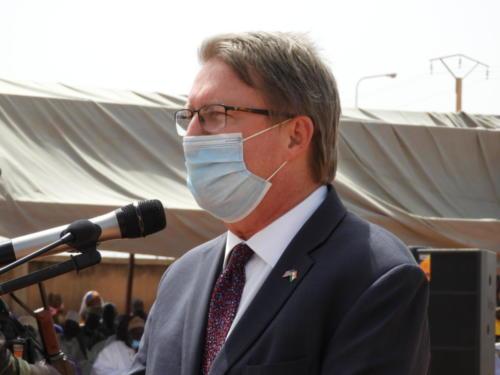 L'Ambassadeur de USA au Niger, Eric Whitaker.