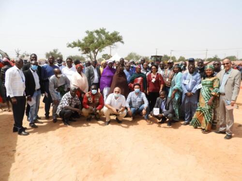 Photo de famille de l'Equipe MCA-Niger.